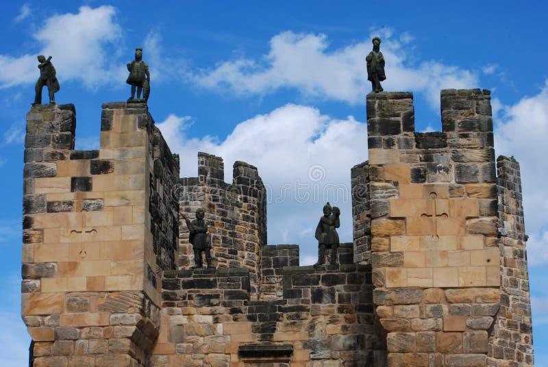 Bevaka slotten arkivfoto