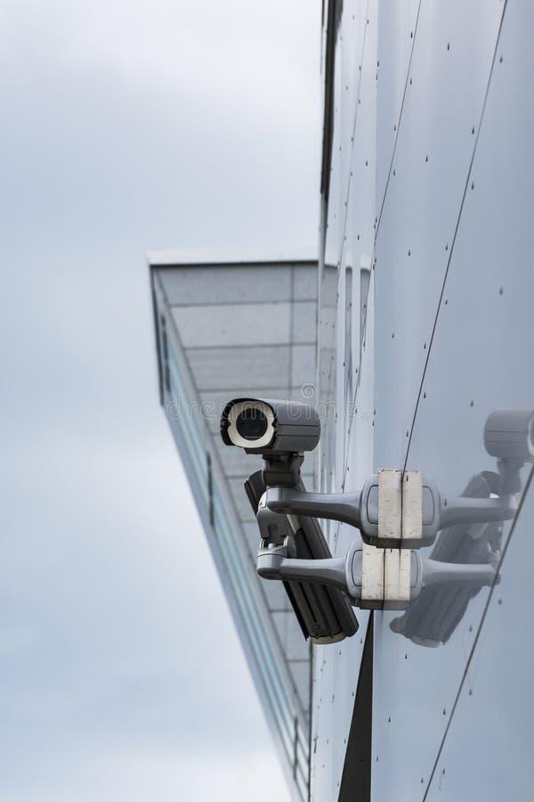 Bevakningkameror royaltyfria foton