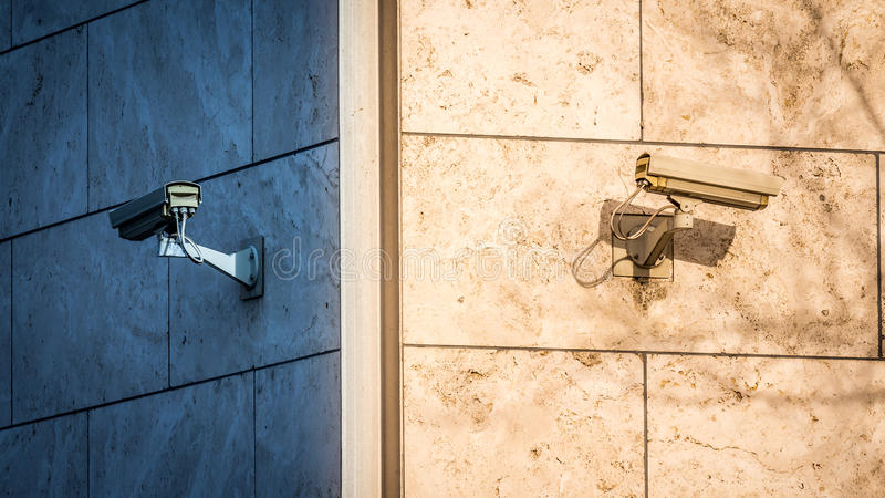 Bevakningkameror arkivbild