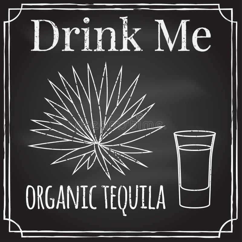 Bevami Elementi sul tema dell'affare di ristorante Cha illustrazione di stock