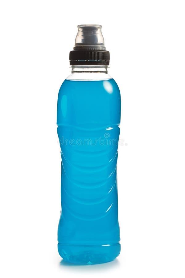 Bevanda blu di energia fotografie stock