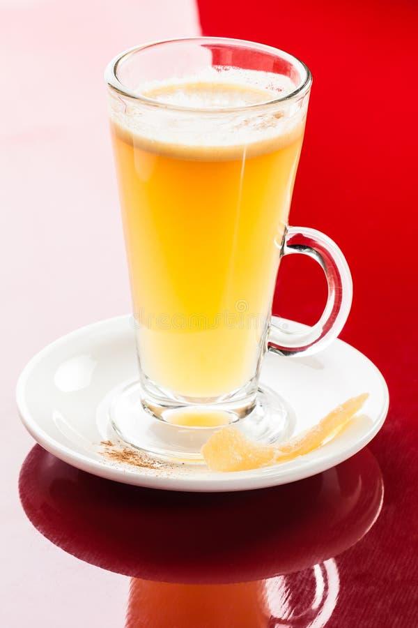 Bevanda calda del limone del mango immagini stock libere da diritti