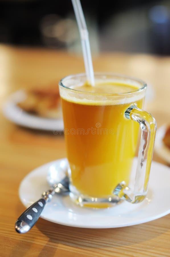 Bevanda calda dolce dello marino spincervino immagine stock