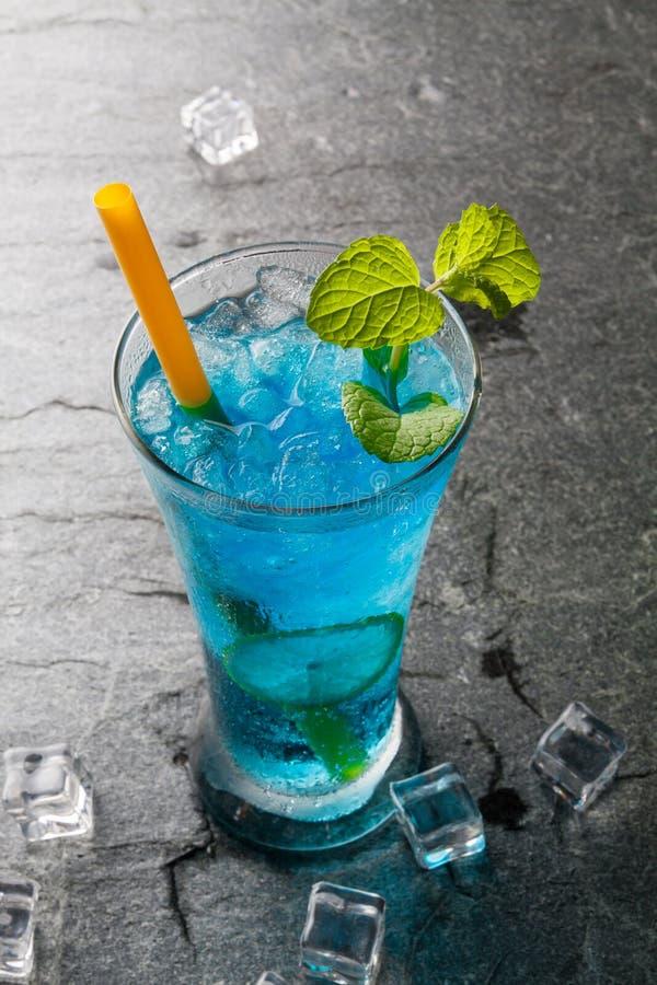 bevanda classica del bule del cocktail con calce fotografie stock libere da diritti