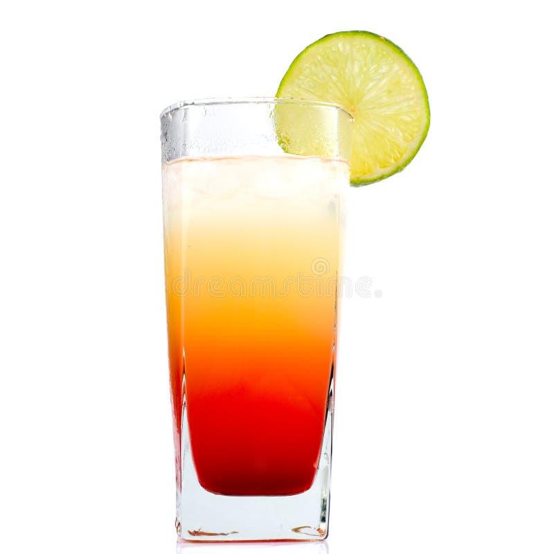 Bevanda con calce immagine stock libera da diritti