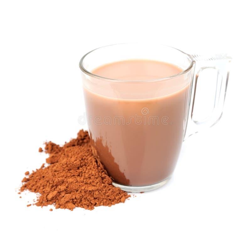 Bevanda del cacao fotografia stock