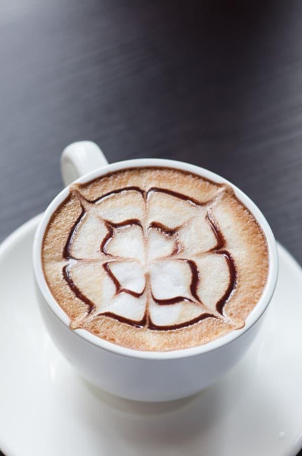 Bevanda del caffè del Mocha immagini stock libere da diritti