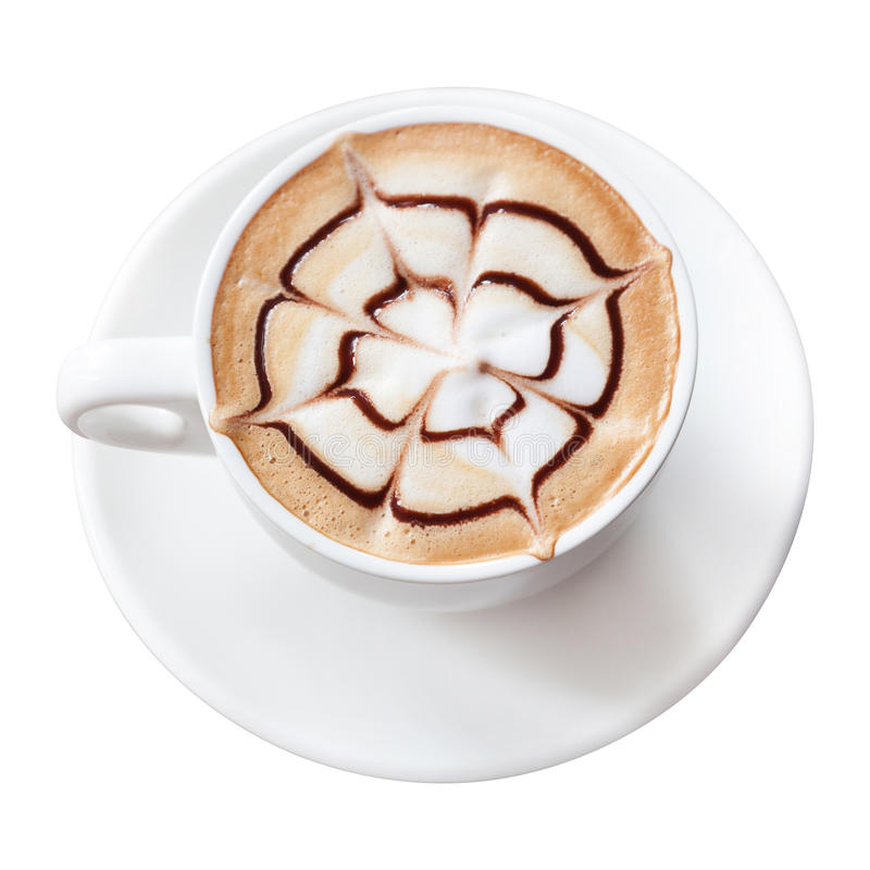 Bevanda del caffè del Mocha fotografia stock libera da diritti