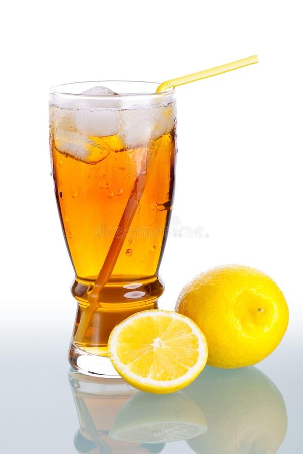 Bevanda del ghiaccio immagine stock