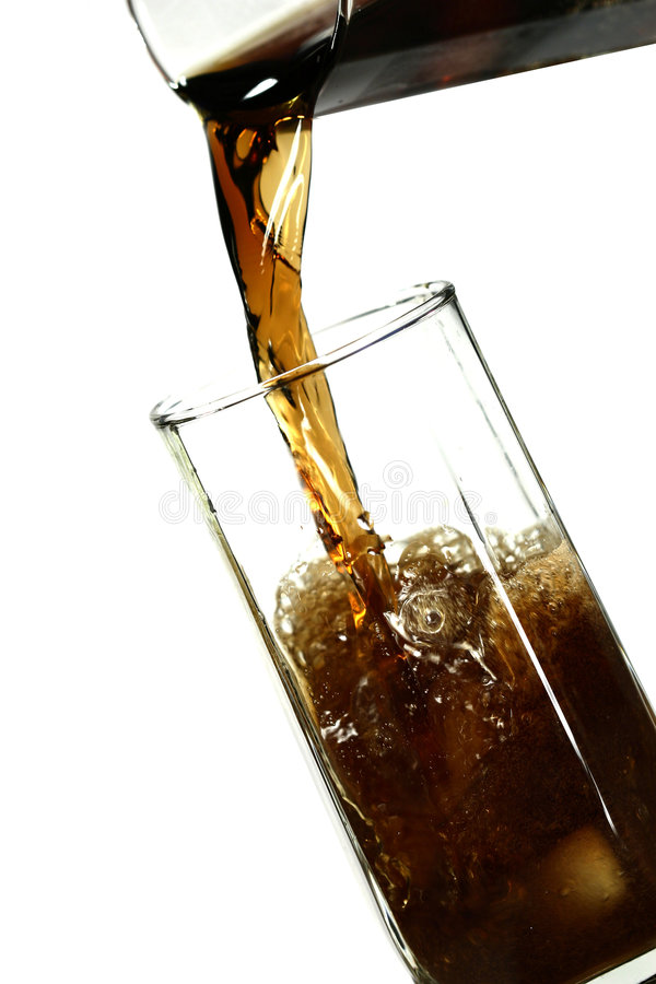 Bevanda del ghiaccio fotografia stock libera da diritti