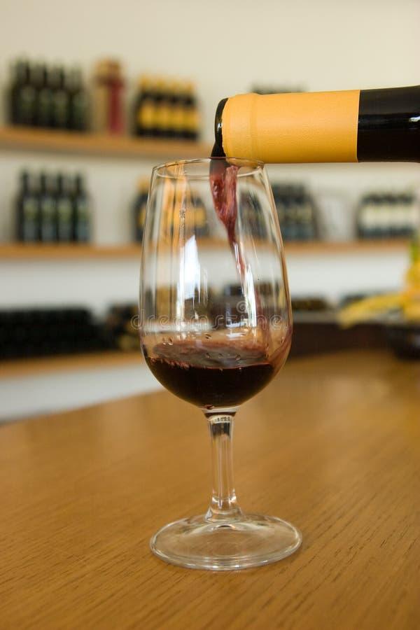 Bevanda del vino fotografia stock libera da diritti