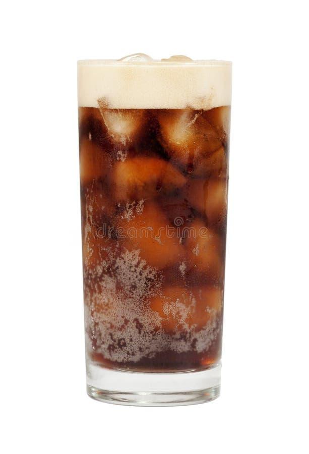 Bevanda della cola isolata immagine stock
