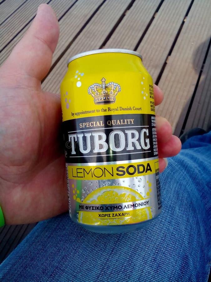 Bevanda della soda fotografie stock