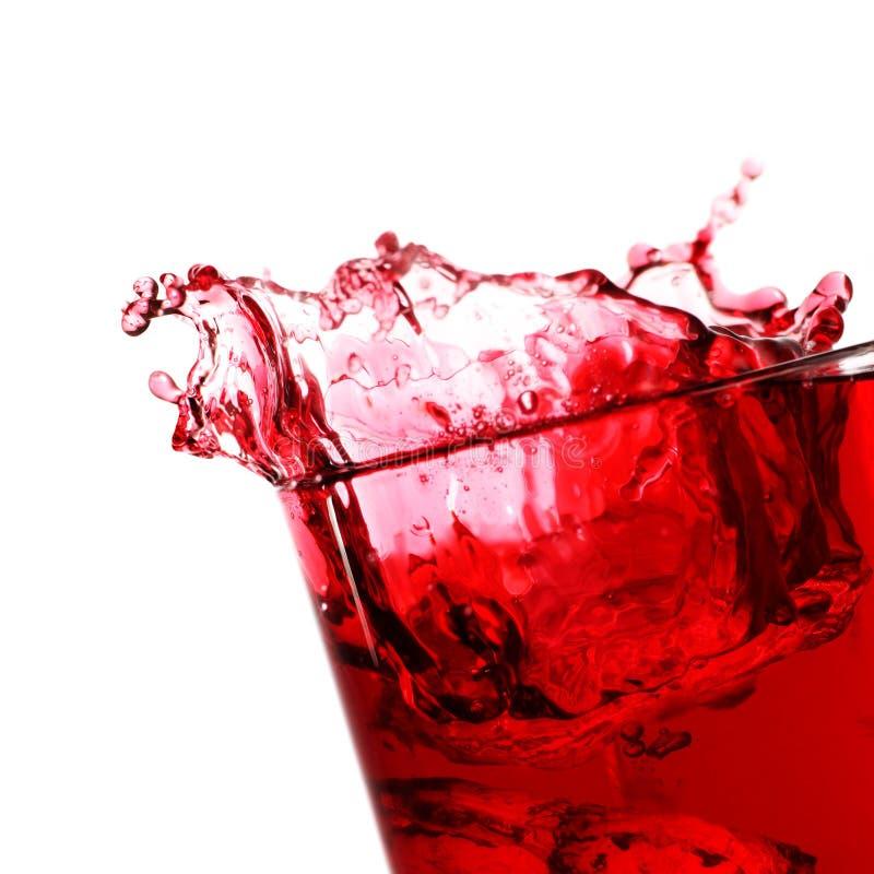 Bevanda della spremuta della bacca fotografia stock