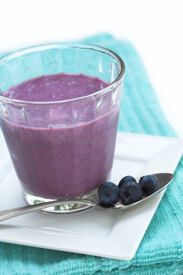 Bevanda dello Smoothie della frutta fotografia stock