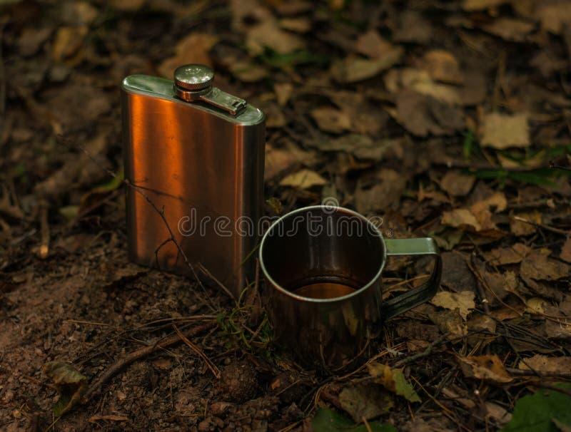 Bevanda di autunno immagini stock