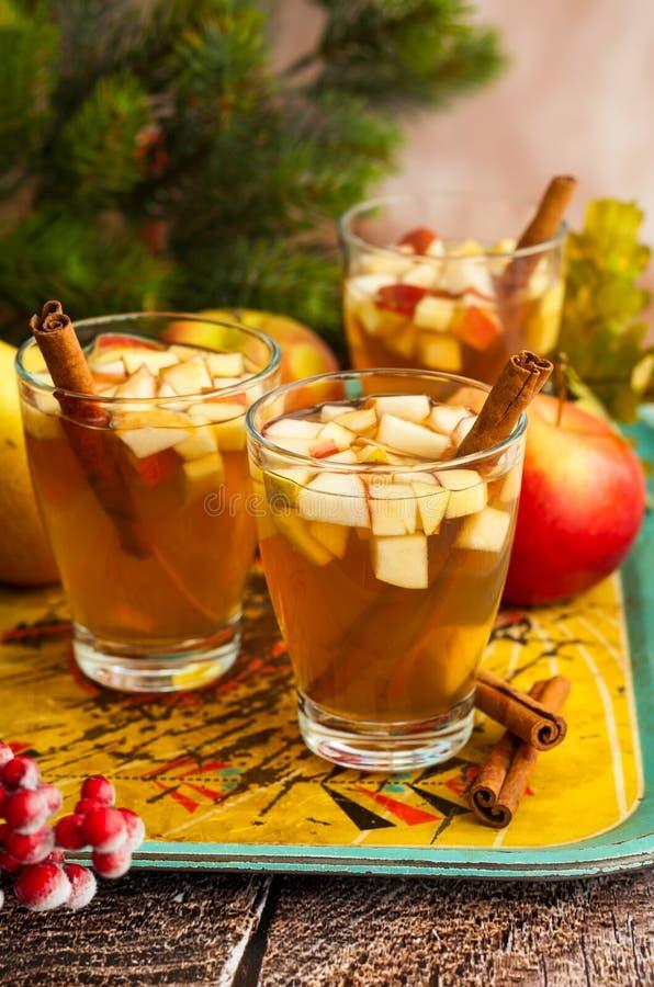 Bevanda di inverno e di caduta immagine stock
