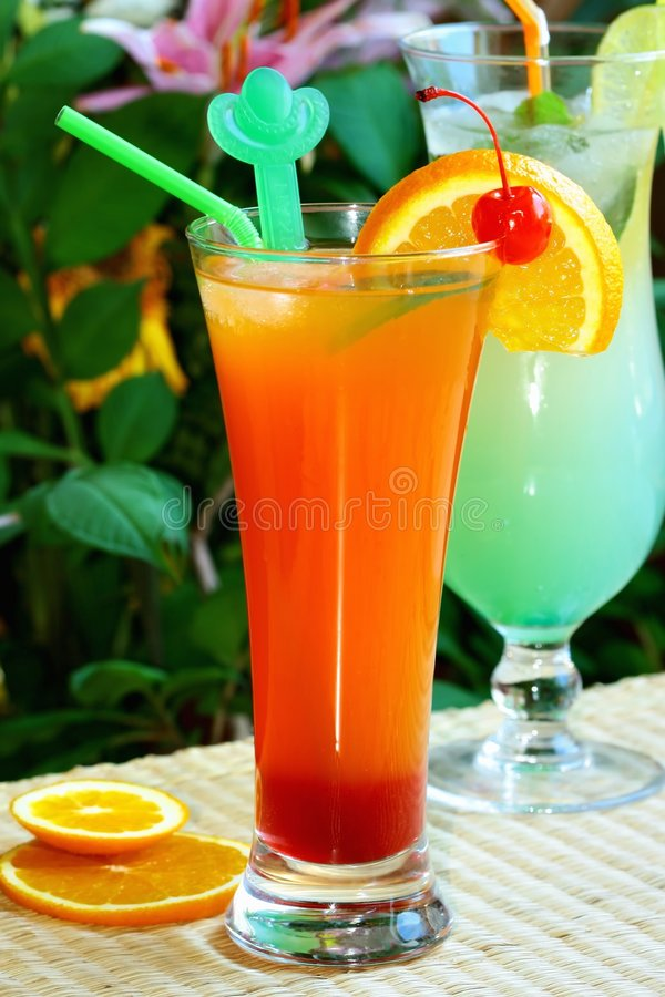 Bevanda di ricreazione di estate fotografie stock
