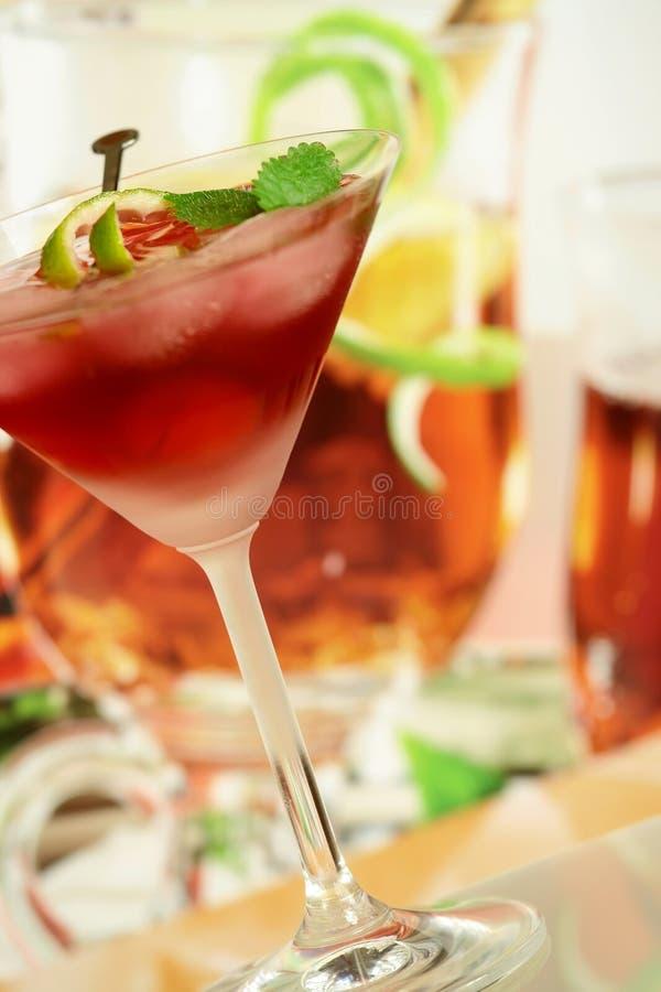 Bevanda di ricreazione di estate alcolica immagine stock libera da diritti