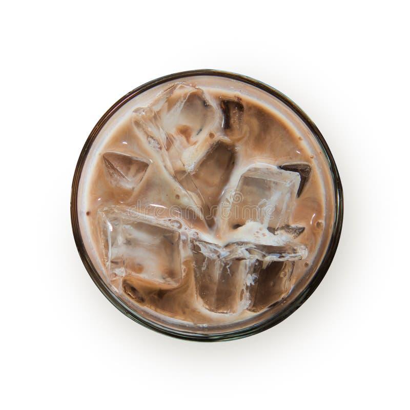 Bevanda fredda della bevanda, malto bianco in tazza immagini stock