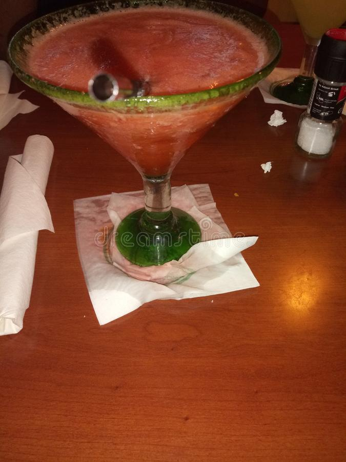 Bevanda in mia tazza fotografie stock libere da diritti