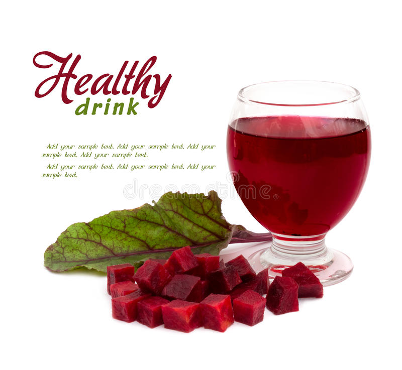Bevanda sana immagine stock