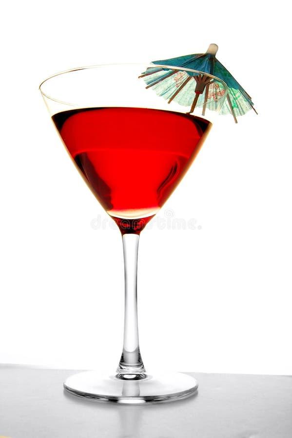 Bevanda tropicale dell'ombrello immagine stock