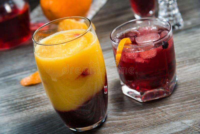 Bevande analcoliche di estate immagini stock