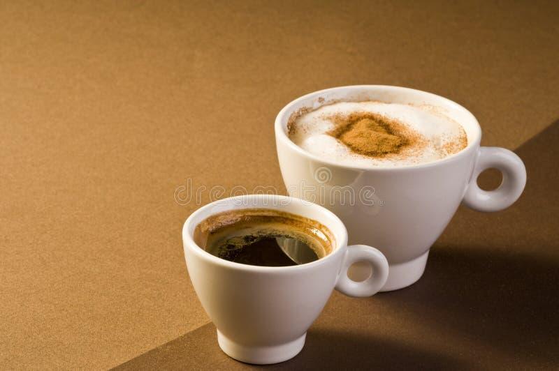 Bevande del caffè immagini stock