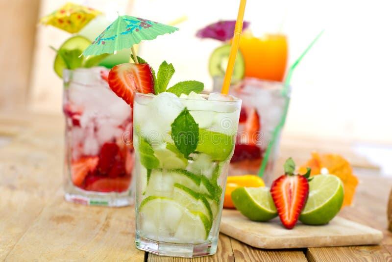 Bevande di estate immagini stock libere da diritti