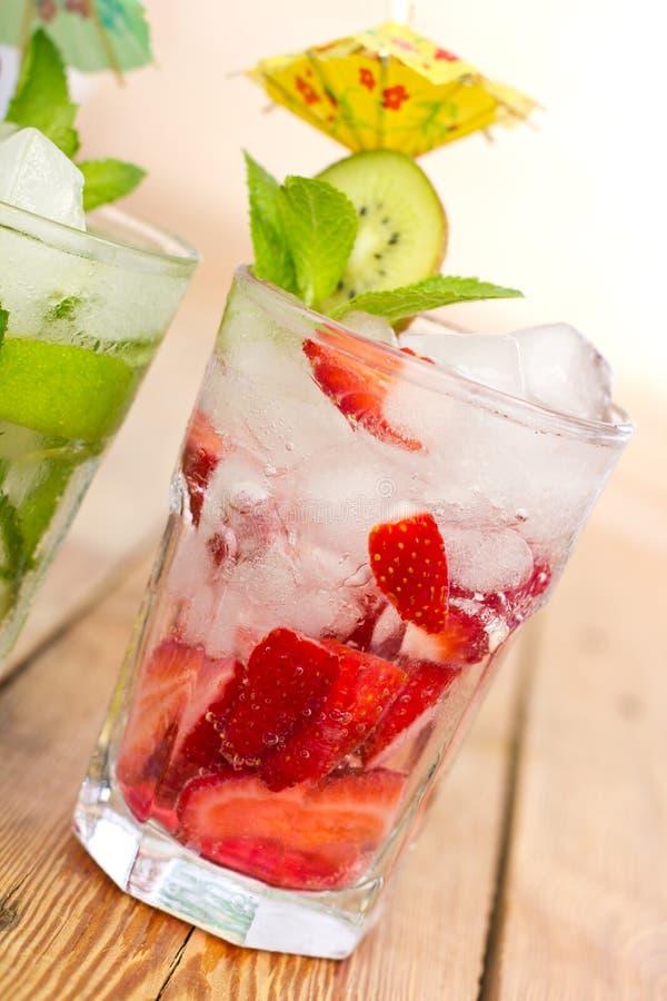 Bevande di estate fotografie stock
