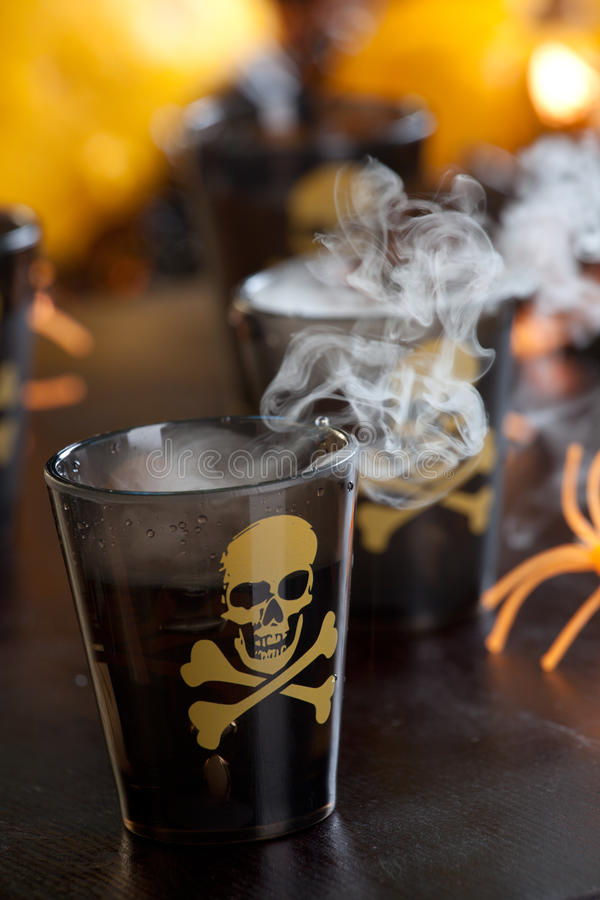 Bevande di Halloween - colpo mortale fotografie stock