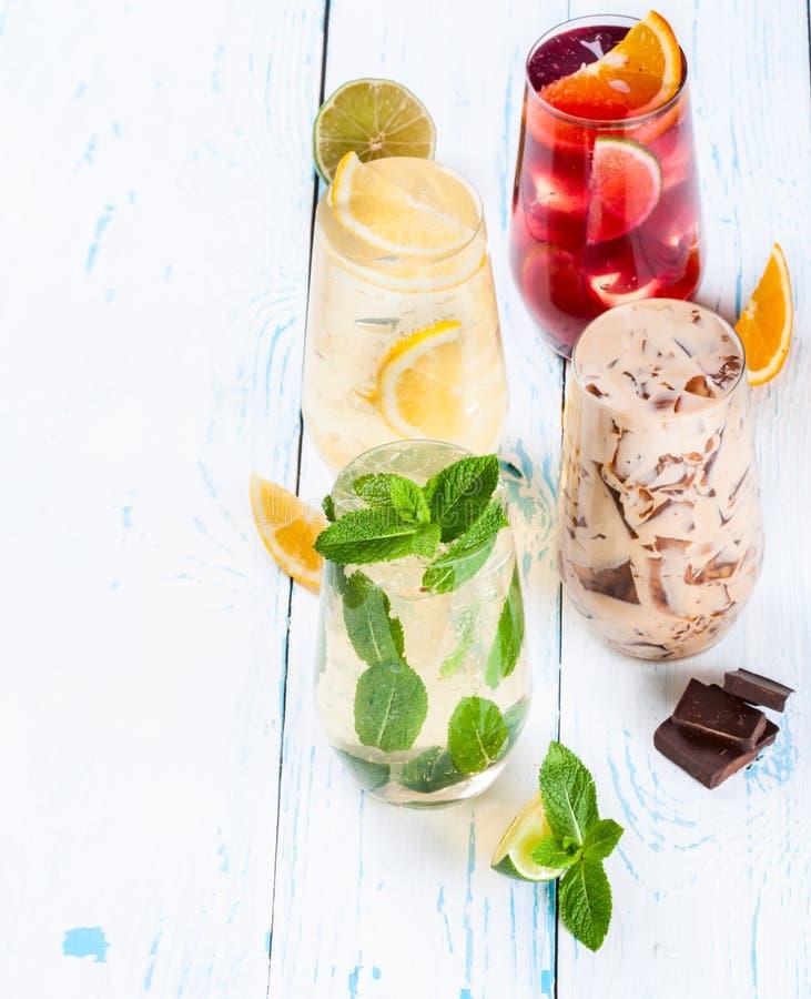 Bevande di rinfresco di estate fotografia stock