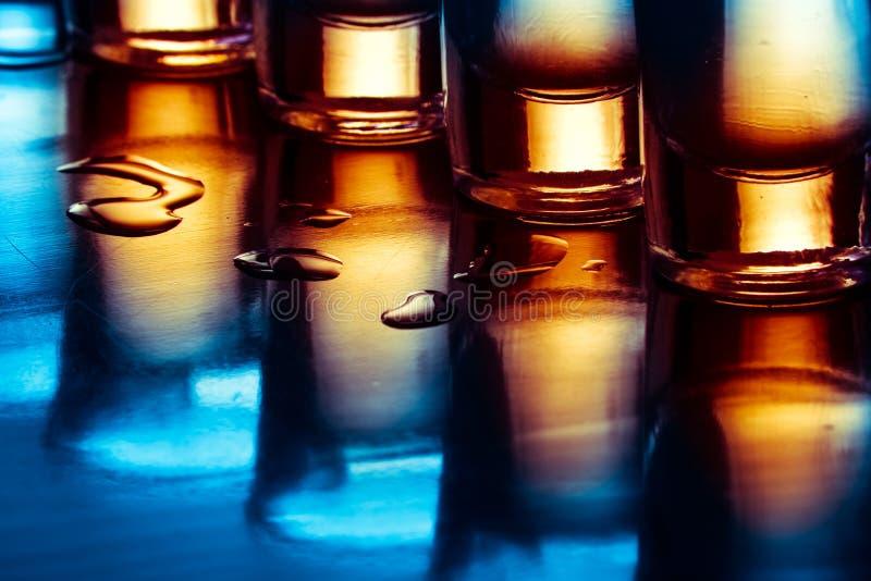 Bevande di Tequila fotografia stock
