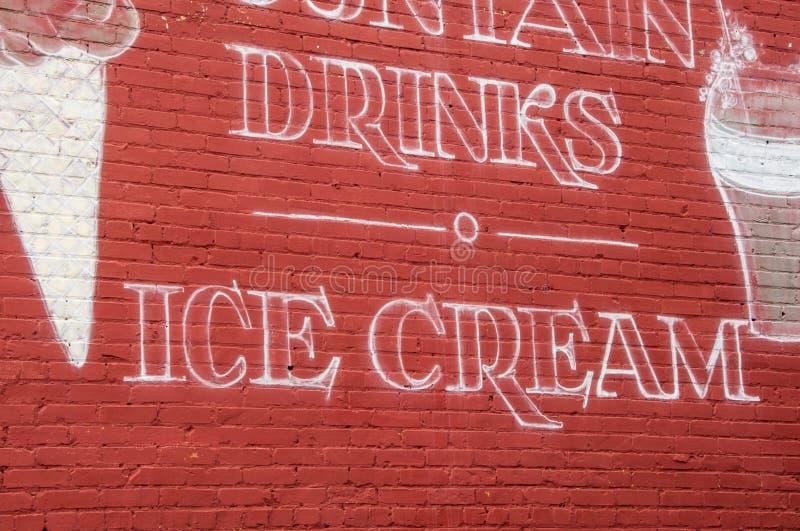 Bevande e gelato fotografie stock libere da diritti