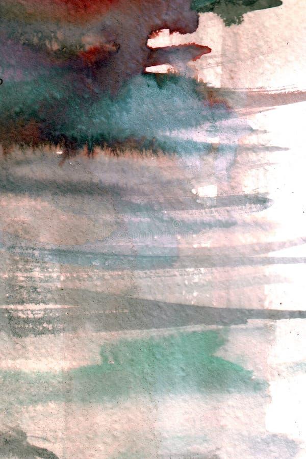 Bevattna färgar bakgrund arkivfoto
