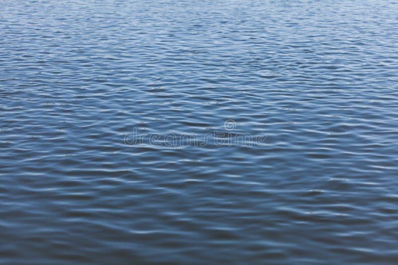 Bevattna yttersida av floden med krusningar, abstrakt bakgrund royaltyfria foton