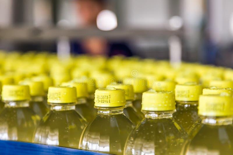 Beve l'impianto di produzione in Cina immagini stock libere da diritti