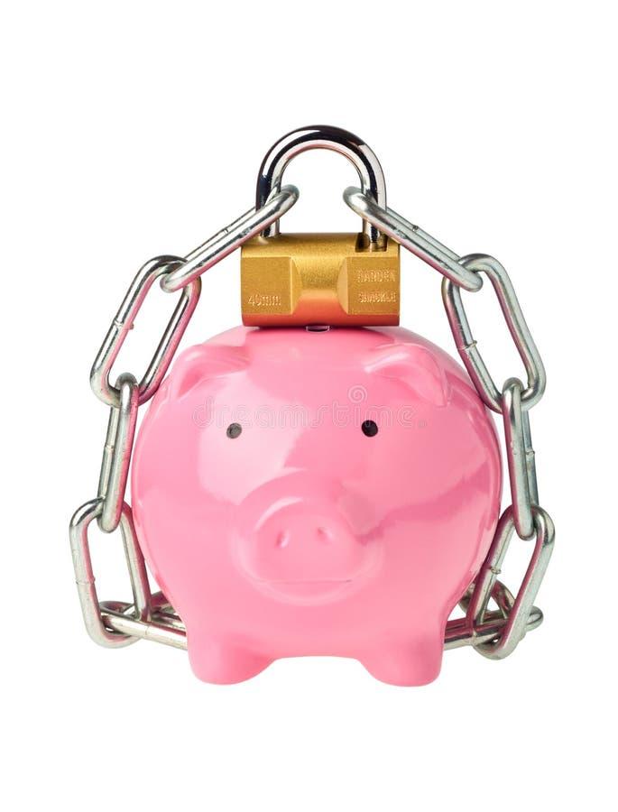 Beveilig besparingen stock afbeeldingen