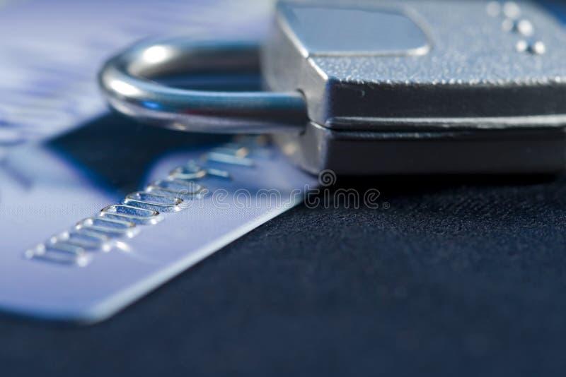 Beveilig Krediet royalty-vrije stock afbeeldingen