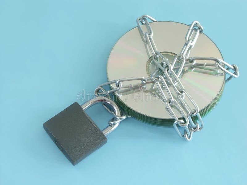 Beveiligde gegevens stock fotografie