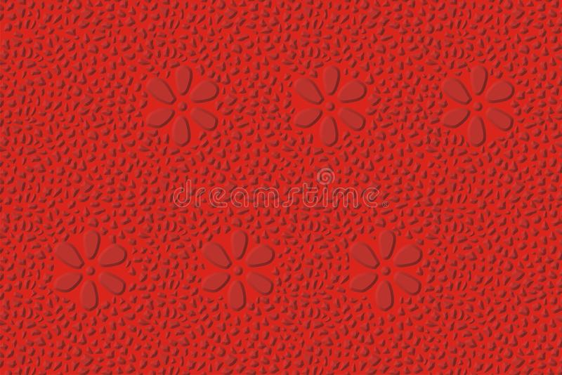 Bevel red pattern stock images