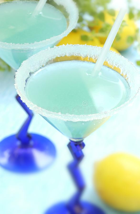 Download Blue Curacao cocktail stock photo. Image of ingredient - 25265398