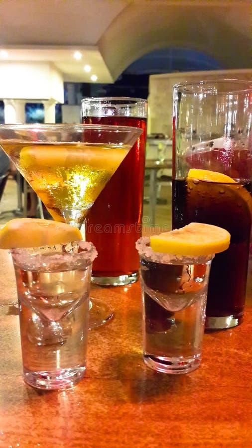 Beverages… arkivfoto