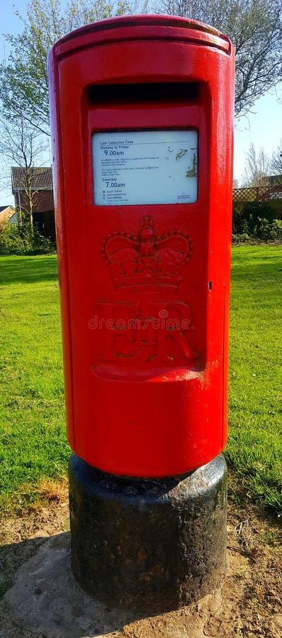 Beverley, ανατολικό Γιορκσάιρ, Αγγλία  Στις 20 Απριλίου 2018  Βρετανικό μετα κιβώτιο στοκ φωτογραφία με δικαίωμα ελεύθερης χρήσης