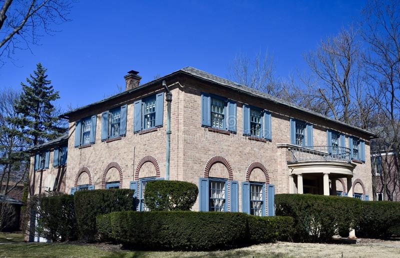 Beverly Colonial royaltyfri bild