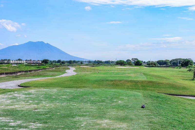 Beverly Golf och klubbhuskurs royaltyfri bild
