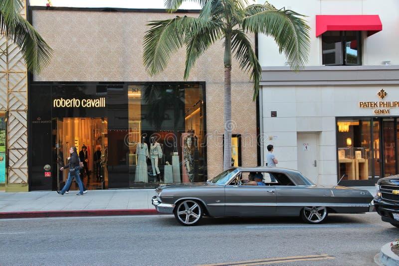 Beverly Hills royaltyfri fotografi