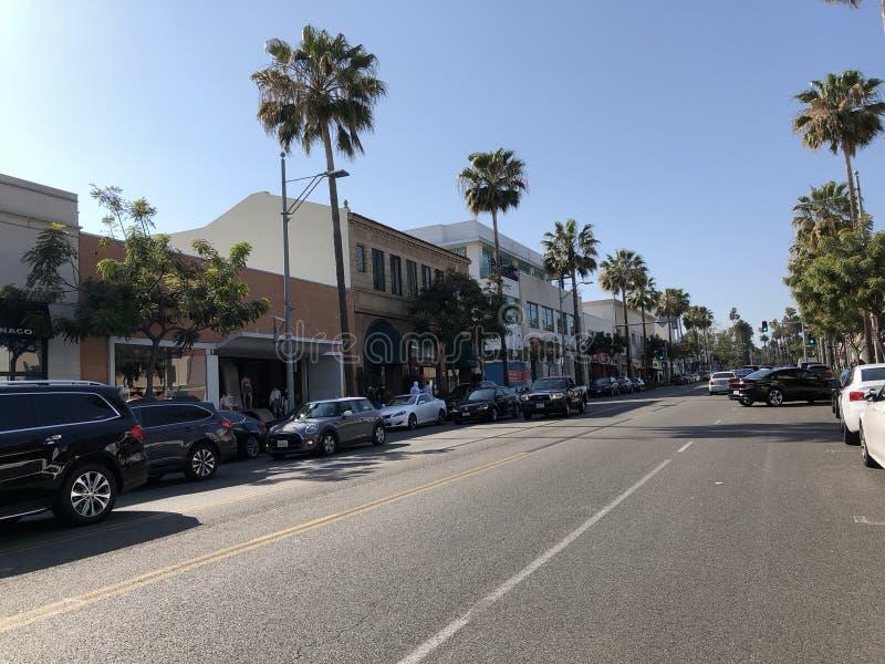 Beverly Hills arkivbilder