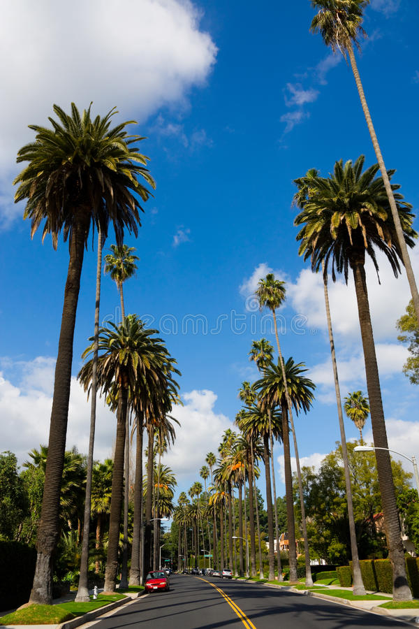 Beverly Hills stock image